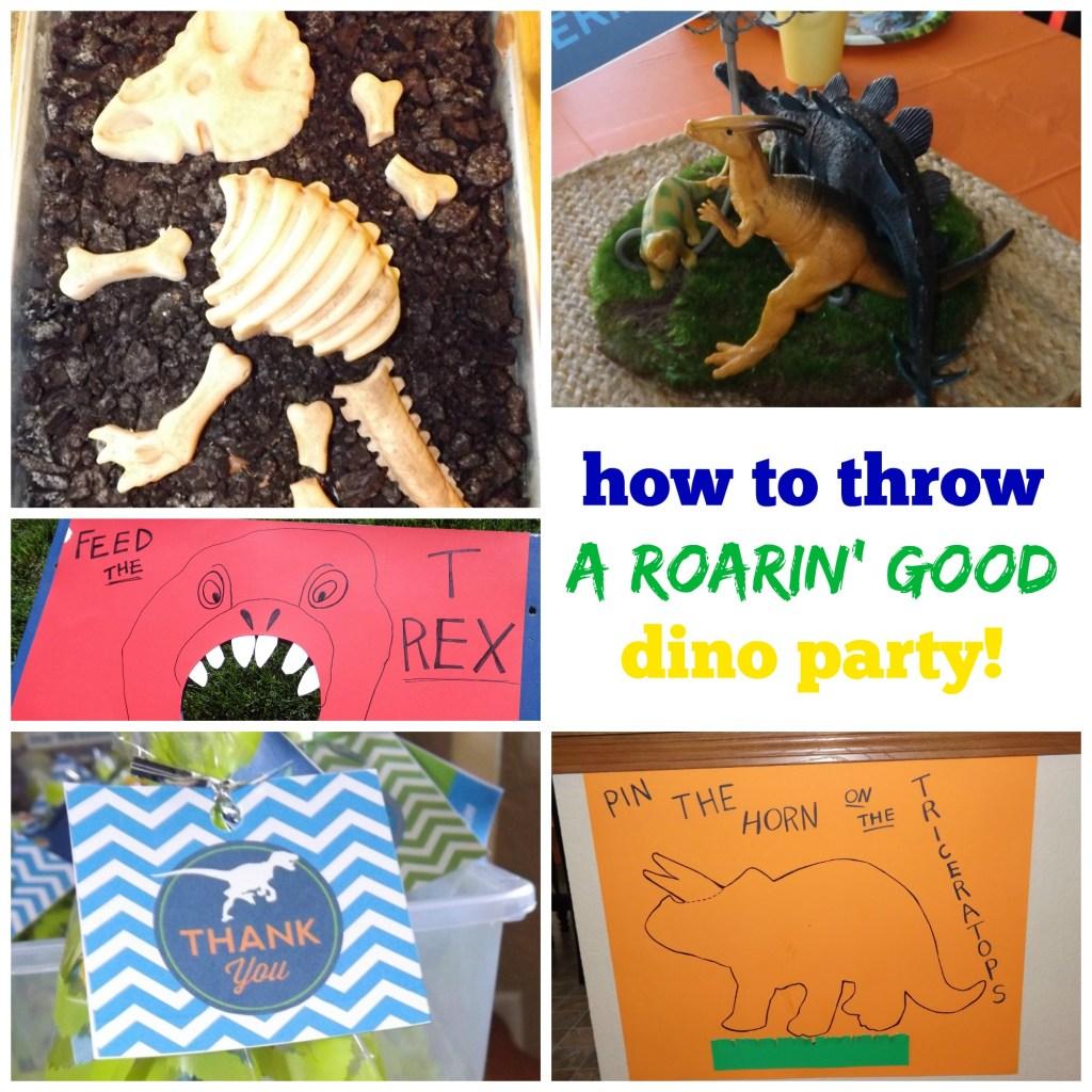 A Roarin' Good Dino Party!