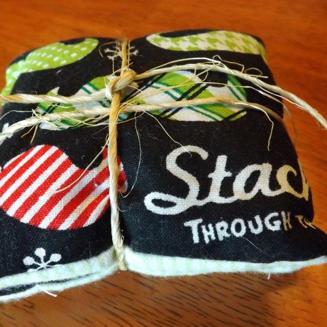 Christmas Mustache Pocket Rice Hand Warmers