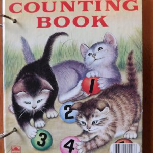 My First Counting Book Upcycled Little Golden Book Journal