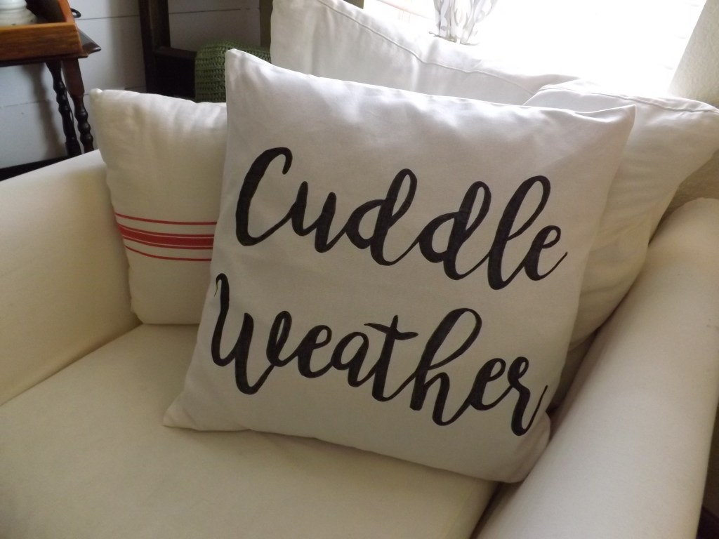Cuddle Weather Pillow Cover