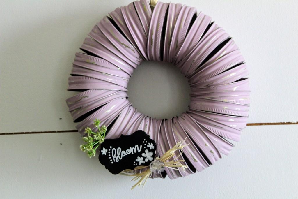 Mason Jar Ring Wreaths