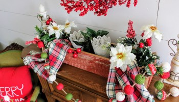 The Barn Wood Christmas Box