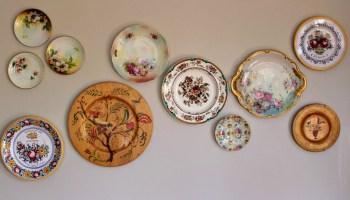 DIY Vintage Plate Wall