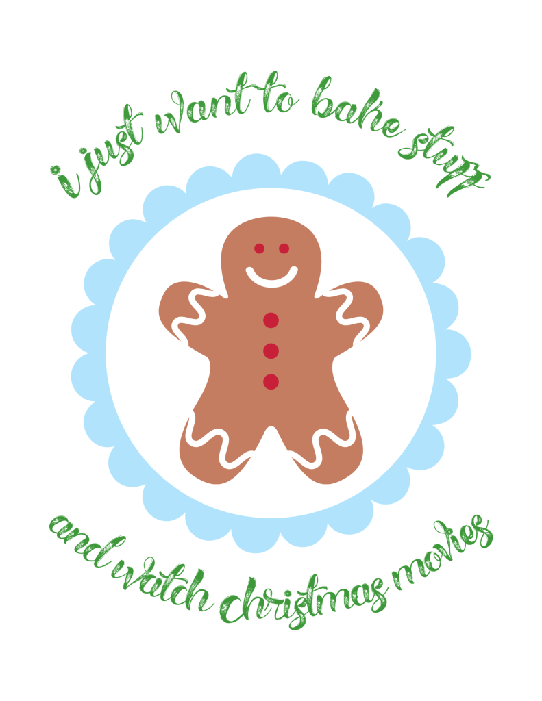Free Baking Printable & Christmas Cookies