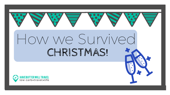 Well, we made it! Christmas is over for another year and we survived without diving head first into a Christmas carb fest. Check out how we survived Christmas.