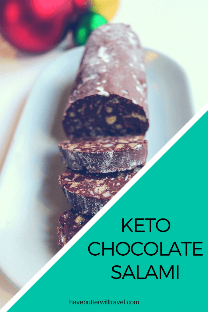 Looking for something moreish to take along to a Xmas party? Look no further as this Keto Chocolate Salami is a hit with everyone and easy to make ahead.