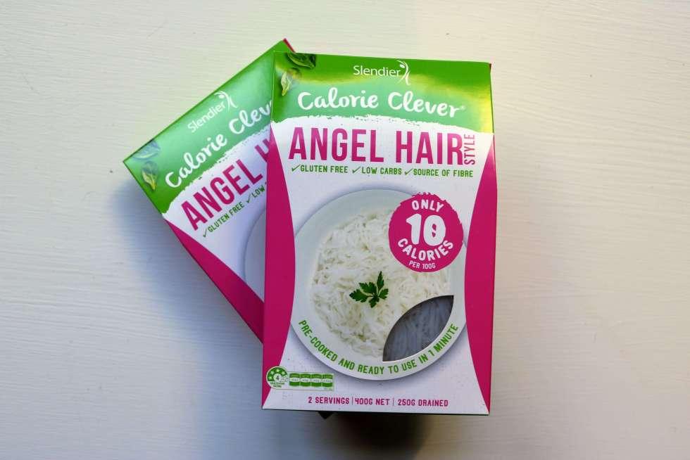 Angel hair noodles