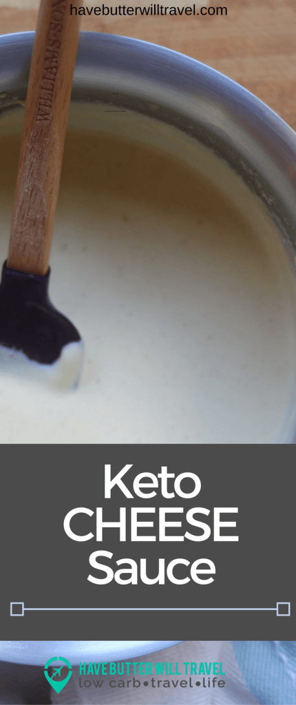 This keto cheese sauce recipe will become a staple in your cooking repertoire as it is super versatile. It's a quick and simple recipe.