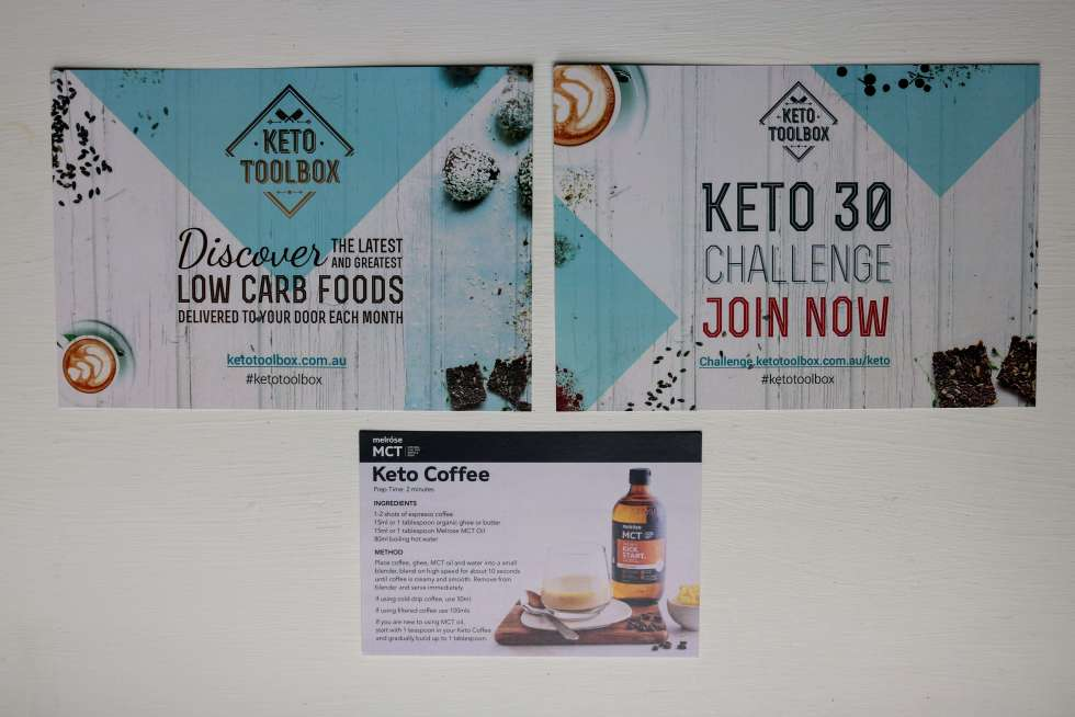 January Keto Toolbox Leaflets