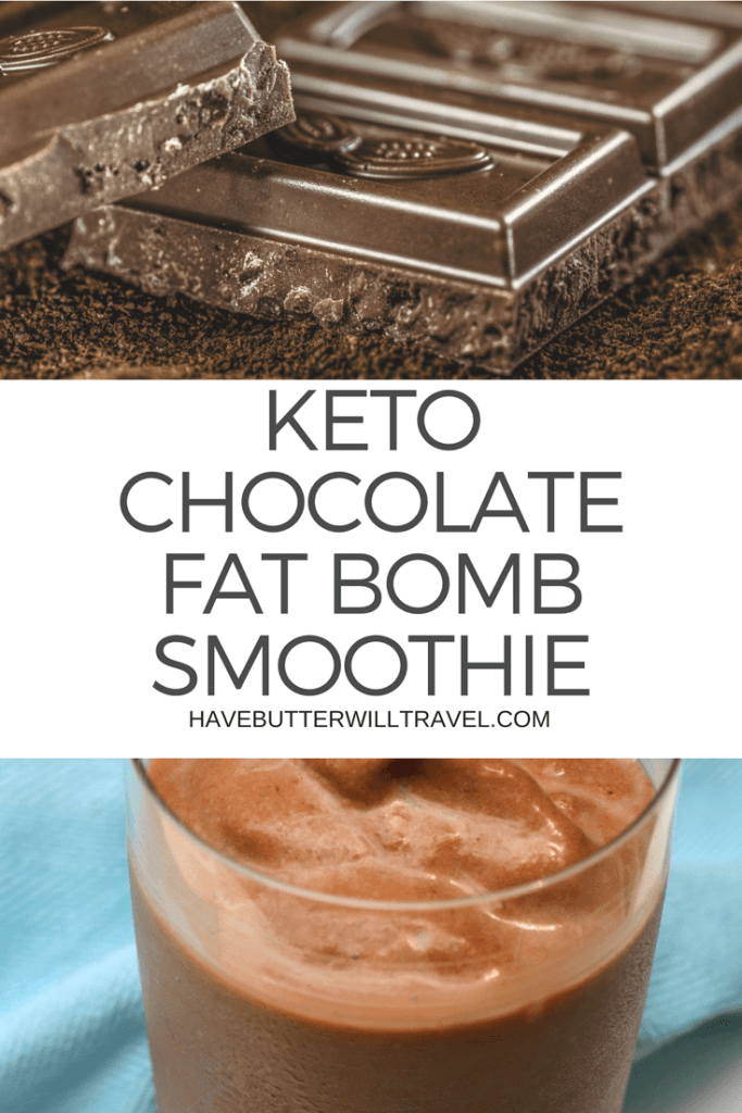 I love the Perfect Keto Chocolate Collagen in my coffee as the combination of collagen and MCT oil makes it so creamy and luscious. This Keto Chocolate fat bomb smoothie is basically a fat bomb and will keep you going all day.