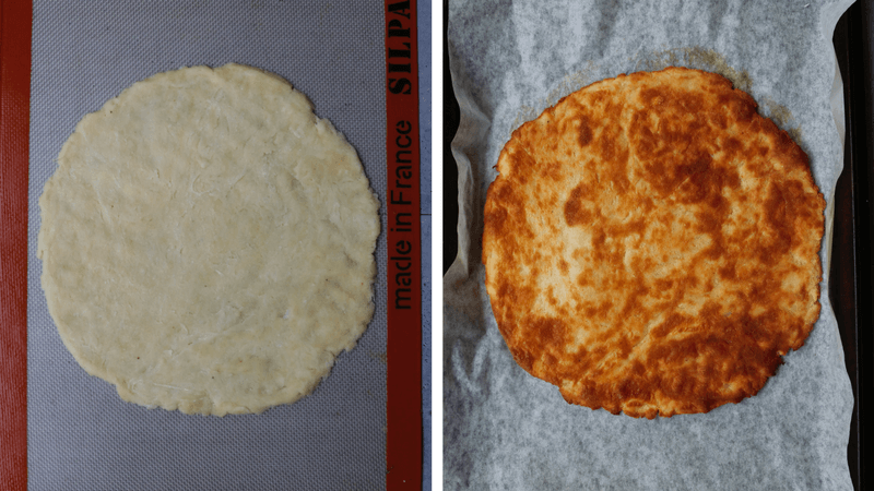 Fathead pizza dough is an extremely popular keto and low carb dough option. There are lots of different variations and this is the version that works best for us.