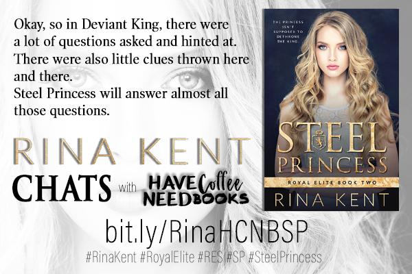 Steel Princess by Rina Kent