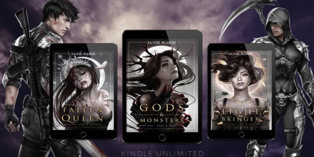 Gods & Monsters Trilogy by Janie Marie