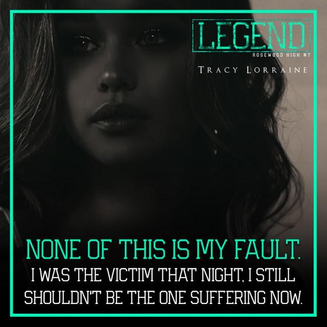 Legend by Tracy Lorraine