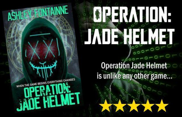 Operation Jade Helmet by Ashley Fontainne