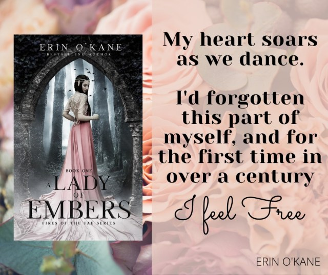 A Lady of Embers by Erin O'Kane