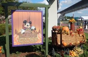 7 tips for visiting Mickey's Not So Scary Halloween Party with young kids