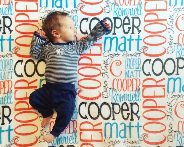 Cooper Matt Blanket