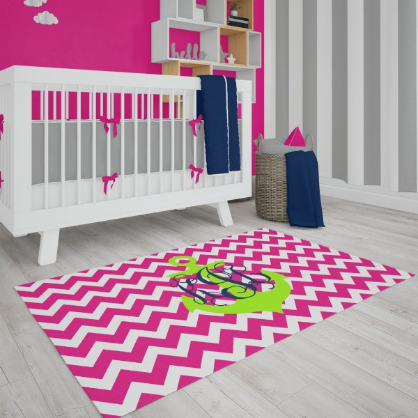 Chevron Anchor Area Rug