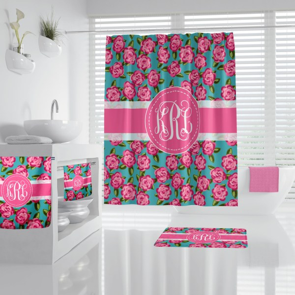 Lilly Inspired Floral Bathroom Accessories