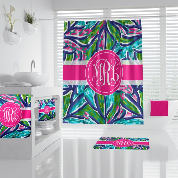 Lilly Inspired Abstract Bathroom Accessories