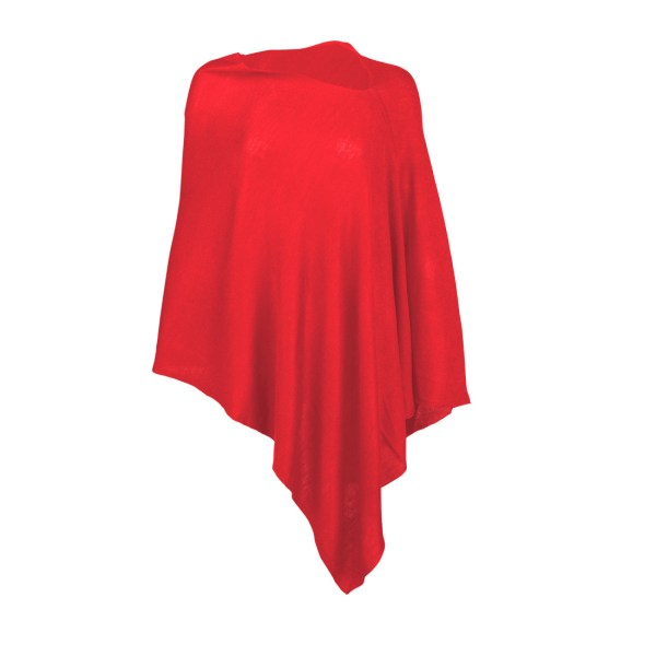 Chelsea Poncho - Red