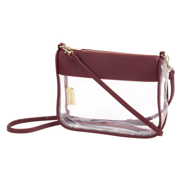 Garnet Addison Clear Purse