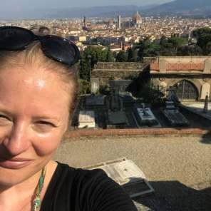 Caroline in Florence