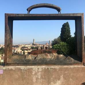 View of Florence from the Rose Garden