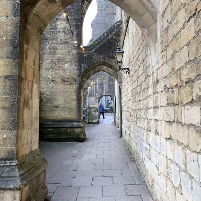 Winchester Cathedral Sideway