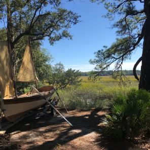 Boat in Wormsloe