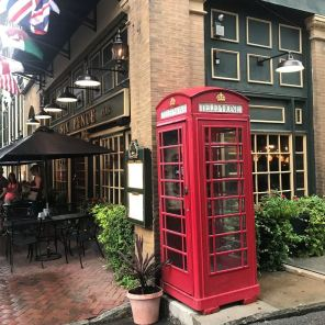 Little bit of British in Savannah