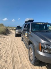 4x4 that took us on our dune tour