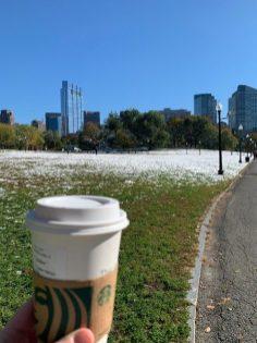 Hot Chocolate in Boston Common