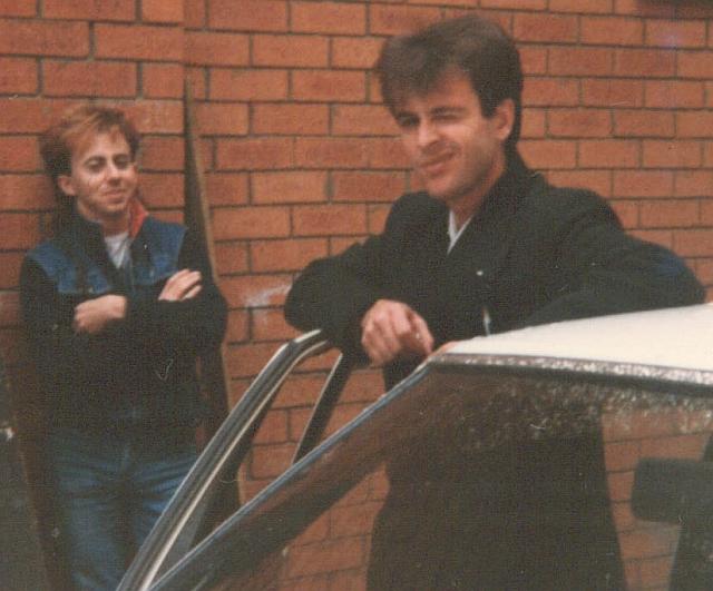 Matt and Des