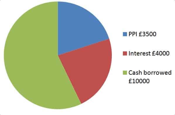 PPI Interest Pie Chart
