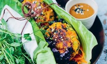 Green Kitchen Halloumi Burger