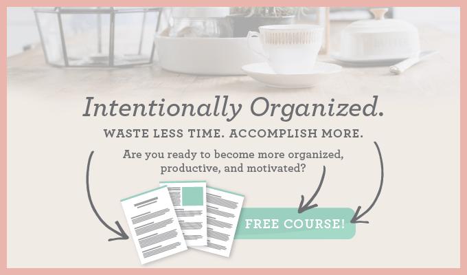 intentionally organized