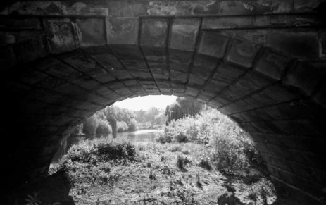 Porthill Footbridge Seen Through Welsh Bridge, Shrewsbury