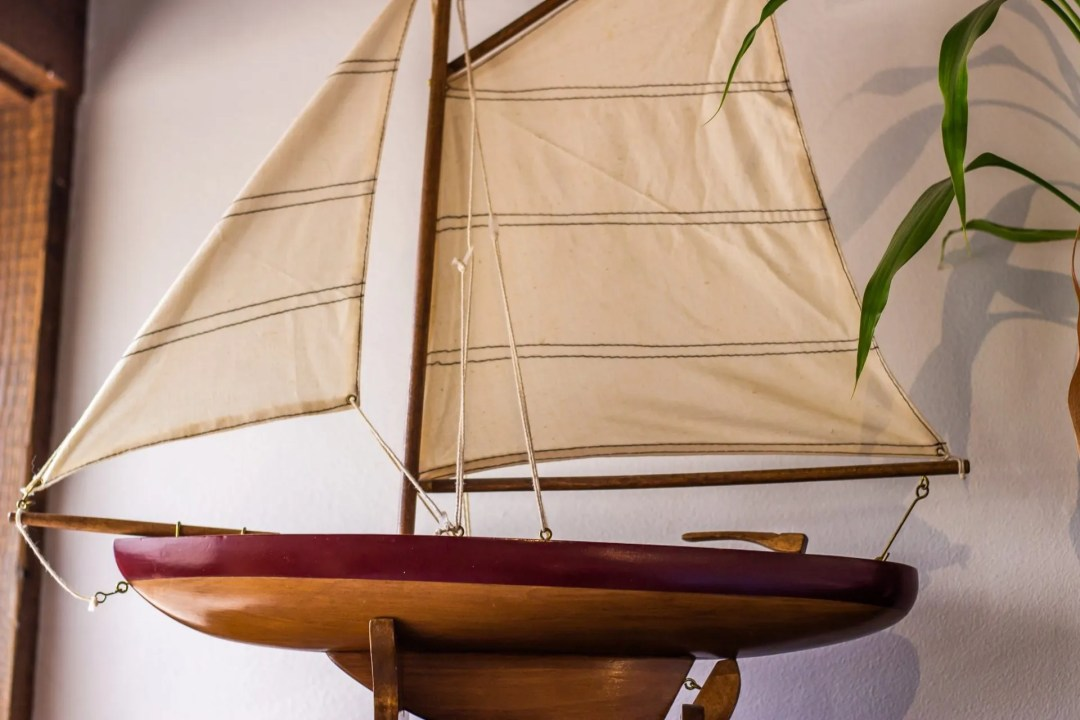 Picture of wooden boat