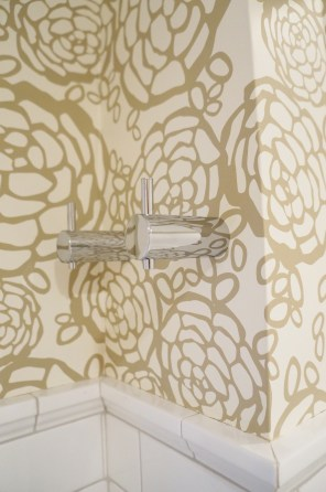 'After' first floor bath ~ towel hooks