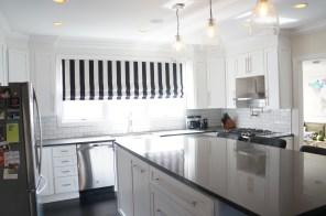 'After' kitchen