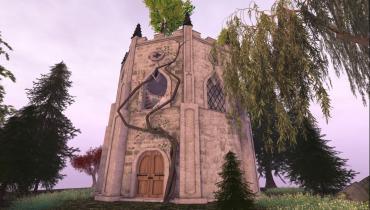 Fairytale tower home