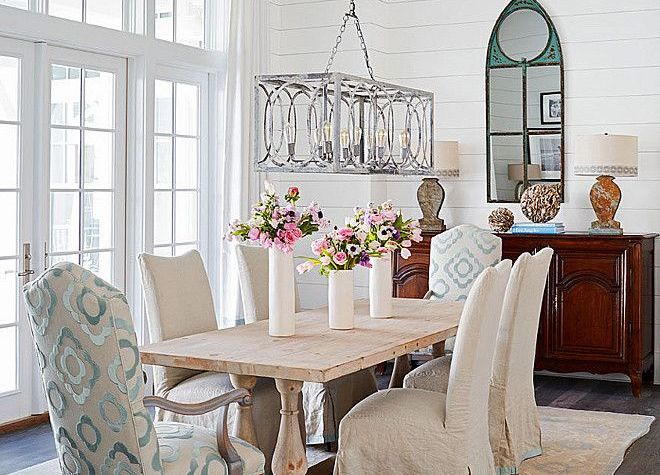 Dining Room Update Ideas: Casual Coastal