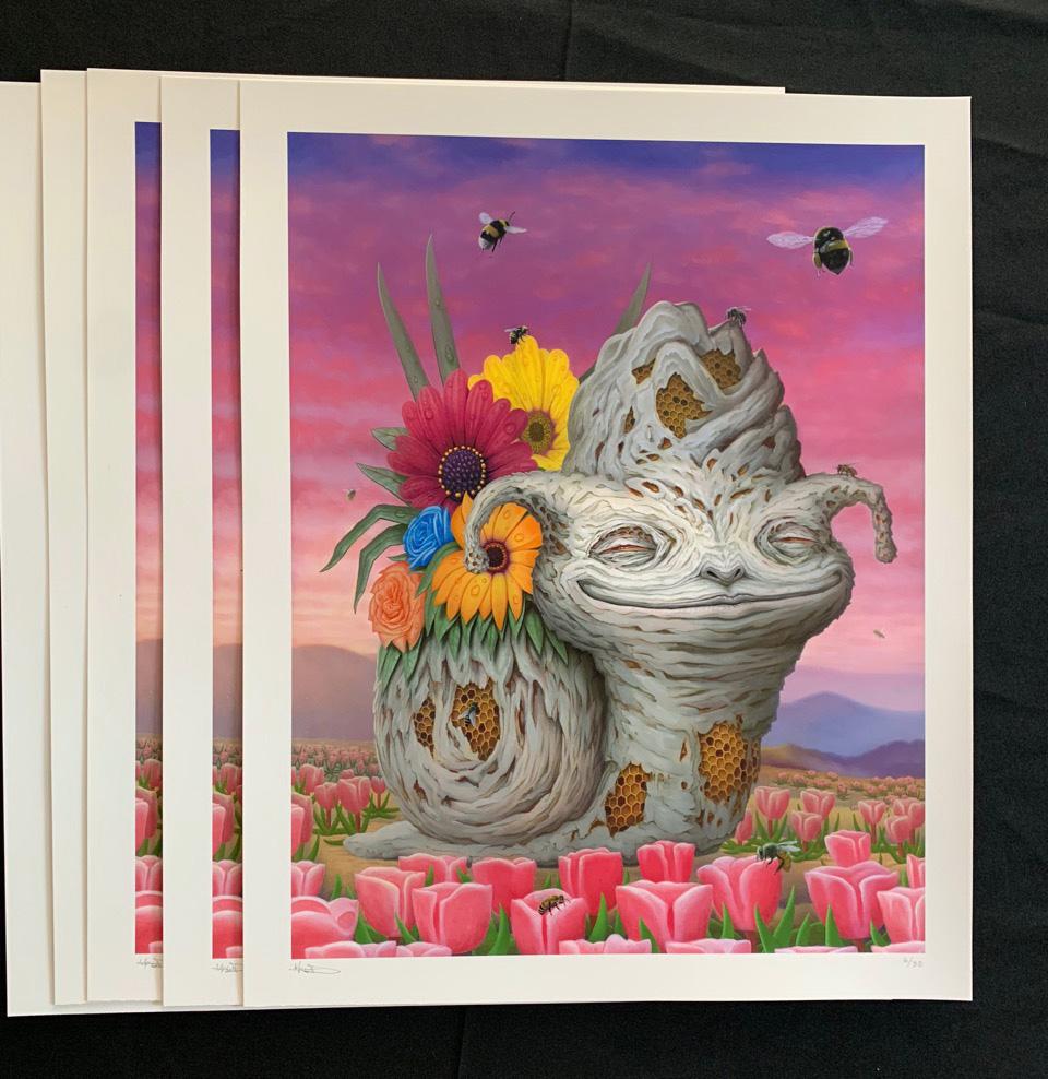 """Matt Dangler """"The Healing Dawn"""" Print"""