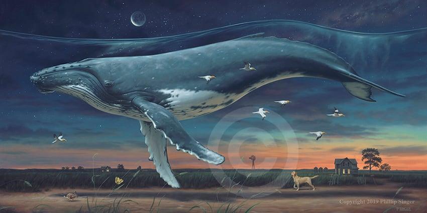 "Phillip Singer ""Night Trip"" Print"