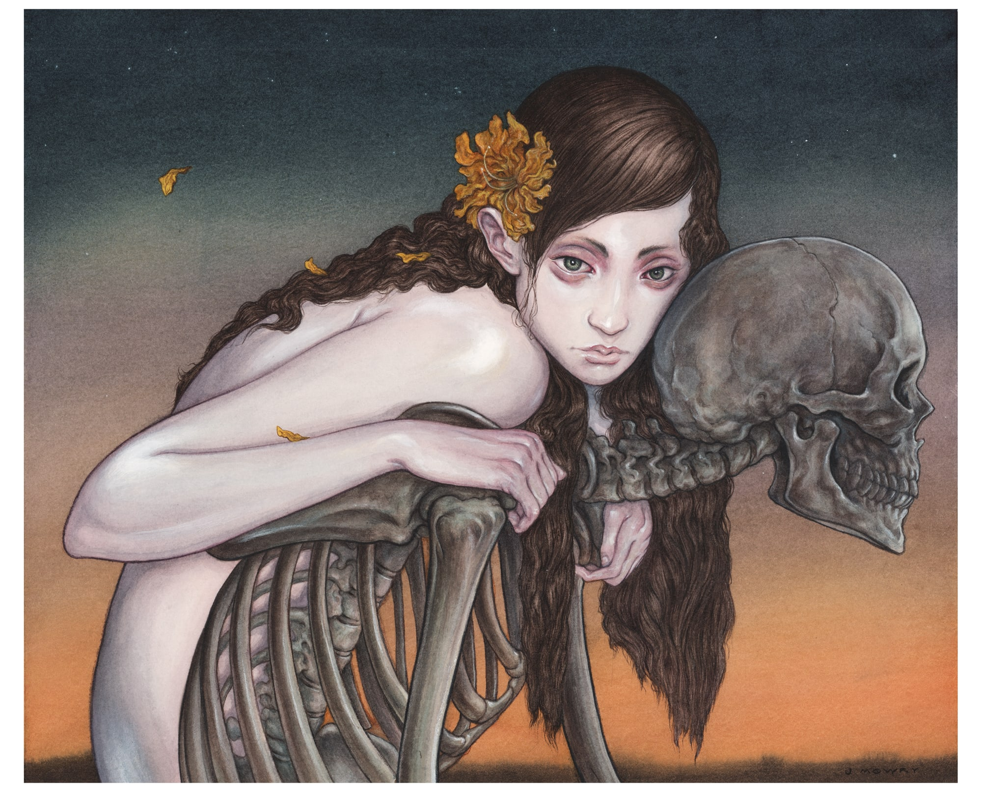 """Jason Mowry """"A Ride In The Dying Light"""" Print"""