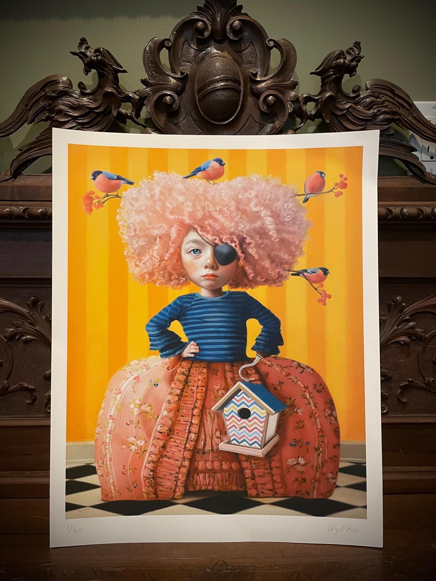 "Olga Esther ""LadyBird"" Number 1 Print"