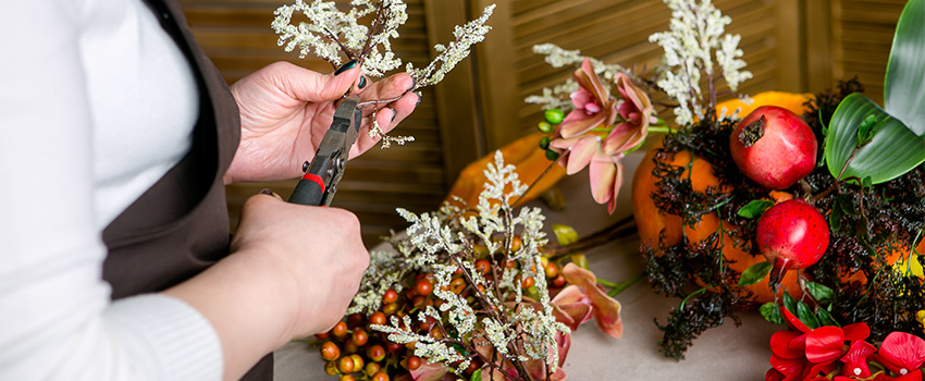 Thrift Store Shopping for DIY Fall Décor