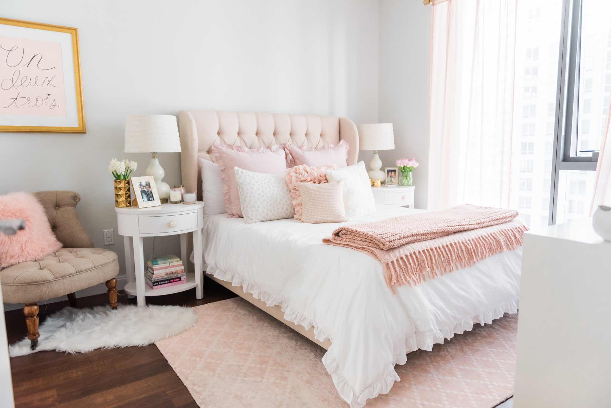 Design Story A Soft Sweet Amp Blush Worthy Bedroom